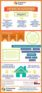 Home Business Infographic